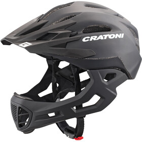 Cratoni C-Maniac Kask rowerowy czarny